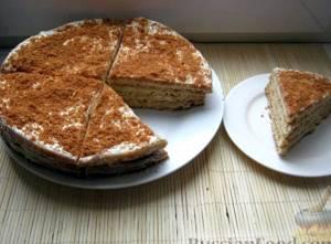 медовый пирог рецепт с фото со сгущенкой фото своего нарядного